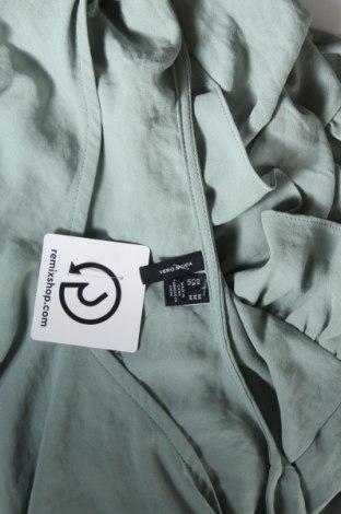 Туника Vero Moda, Размер M, Цвят Зелен, Полиестер, Цена 19,20лв.