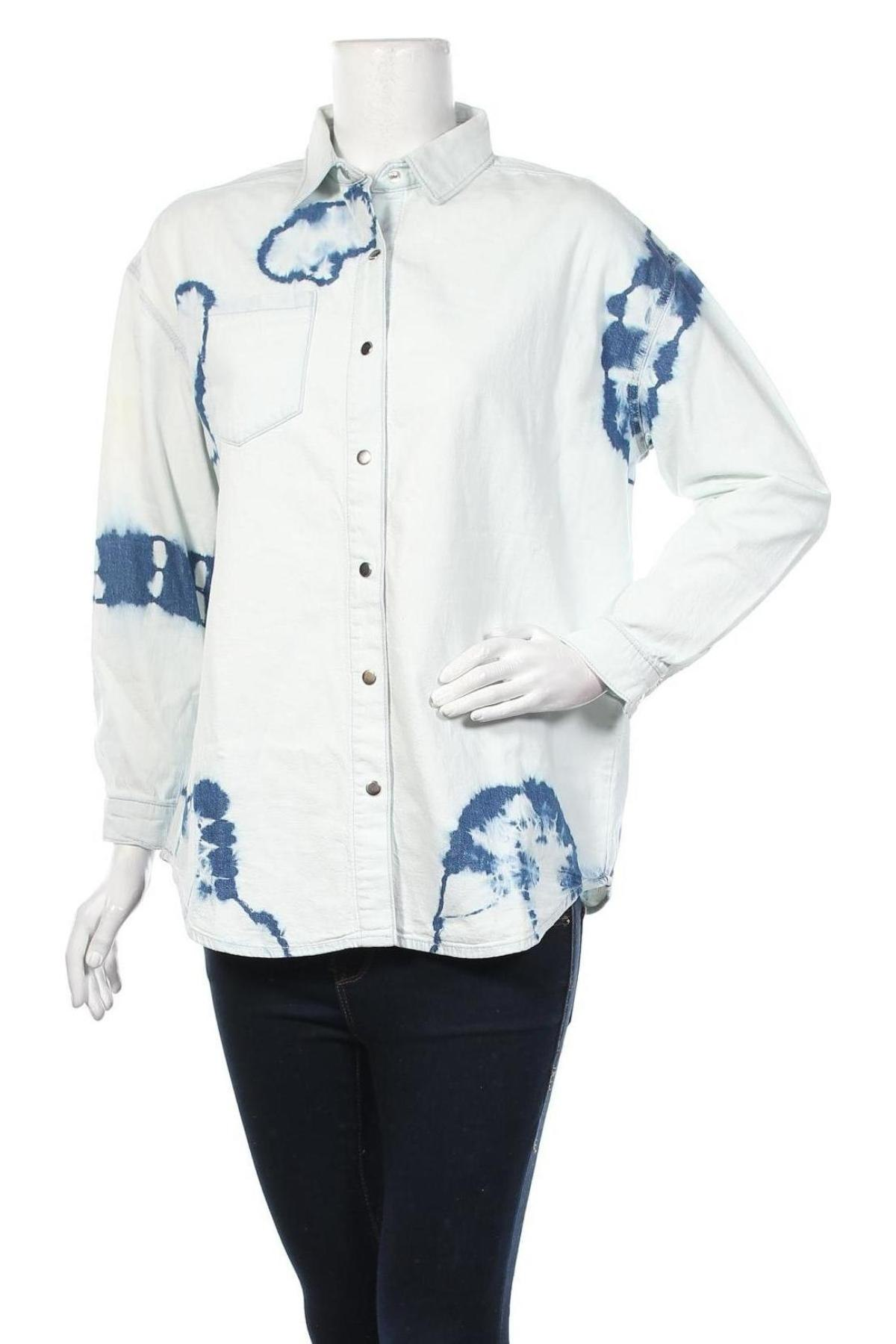 Дамска риза Mavi, Размер S, Цвят Син, Памук, Цена 35,60лв.