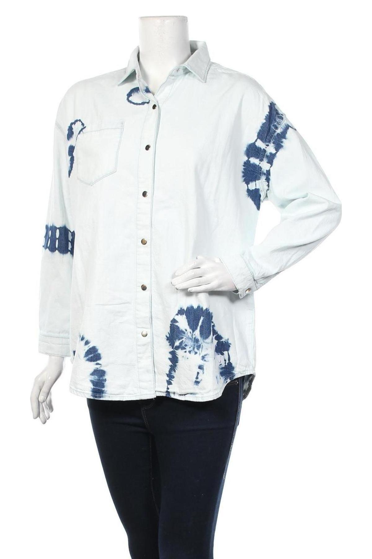 Дамска риза Mavi, Размер M, Цвят Син, Памук, Цена 35,60лв.