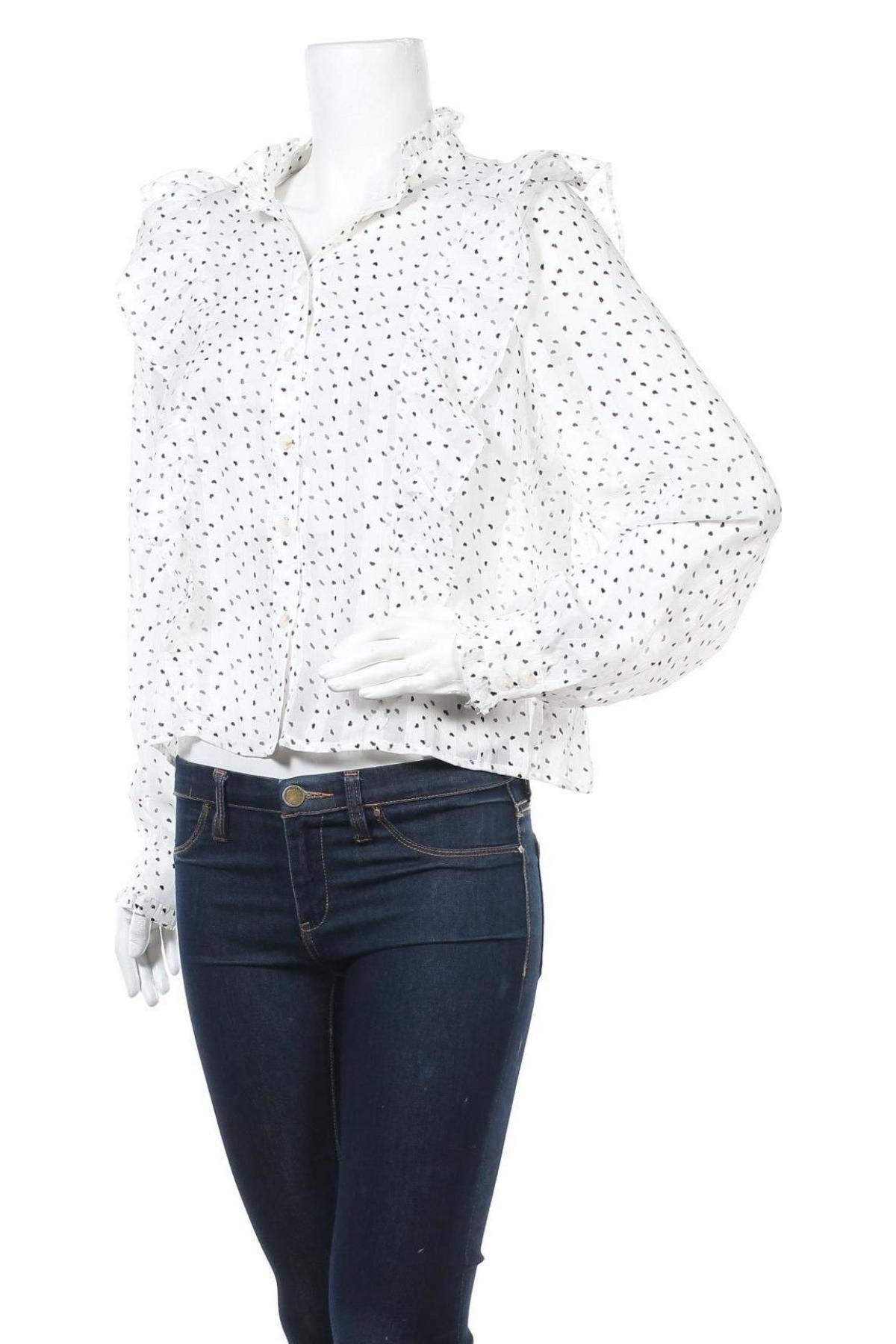 Дамска риза Y.A.S, Размер M, Цвят Бял, Полиестер, Цена 28,12лв.