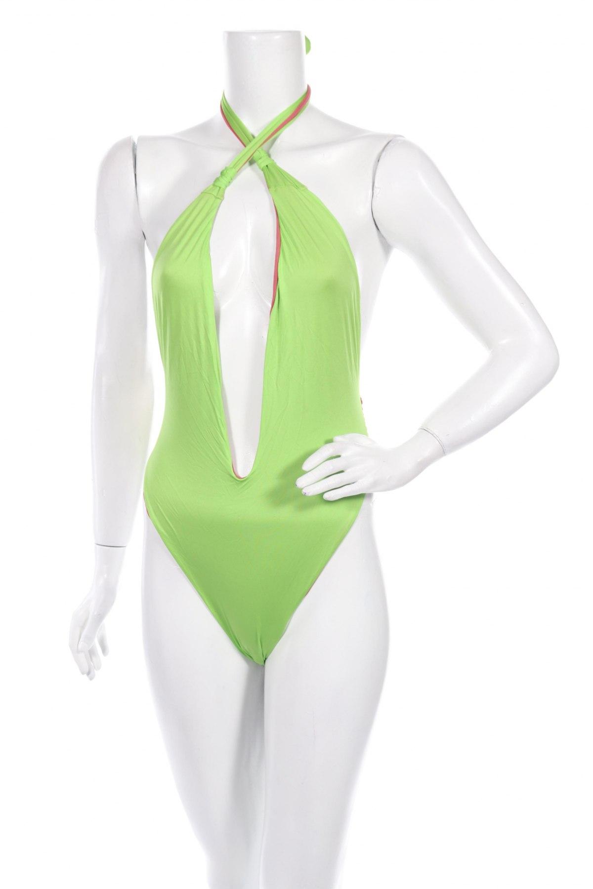 Дамски бански 4giveness, Размер M, Цвят Зелен, 85% полиамид, 15% еластан, Цена 17,25лв.