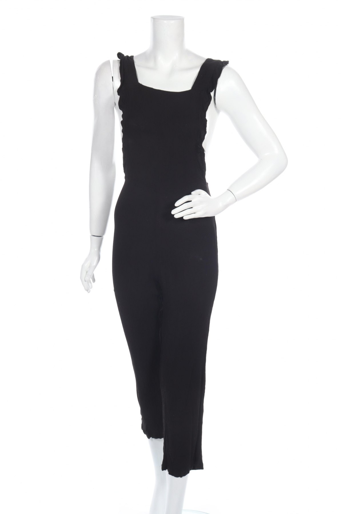 Γυναικεία σαλοπέτα Ichi, Μέγεθος M, Χρώμα Μαύρο, Βισκόζη, Τιμή 13,61€