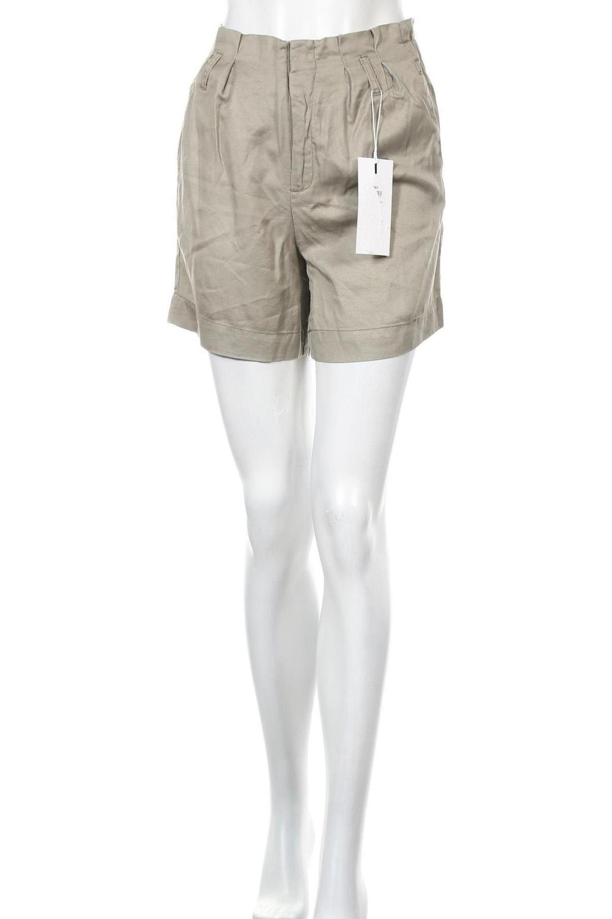Γυναικείο κοντό παντελόνι ONLY, Μέγεθος XS, Χρώμα Πράσινο, Lyocell, Τιμή 12,53€