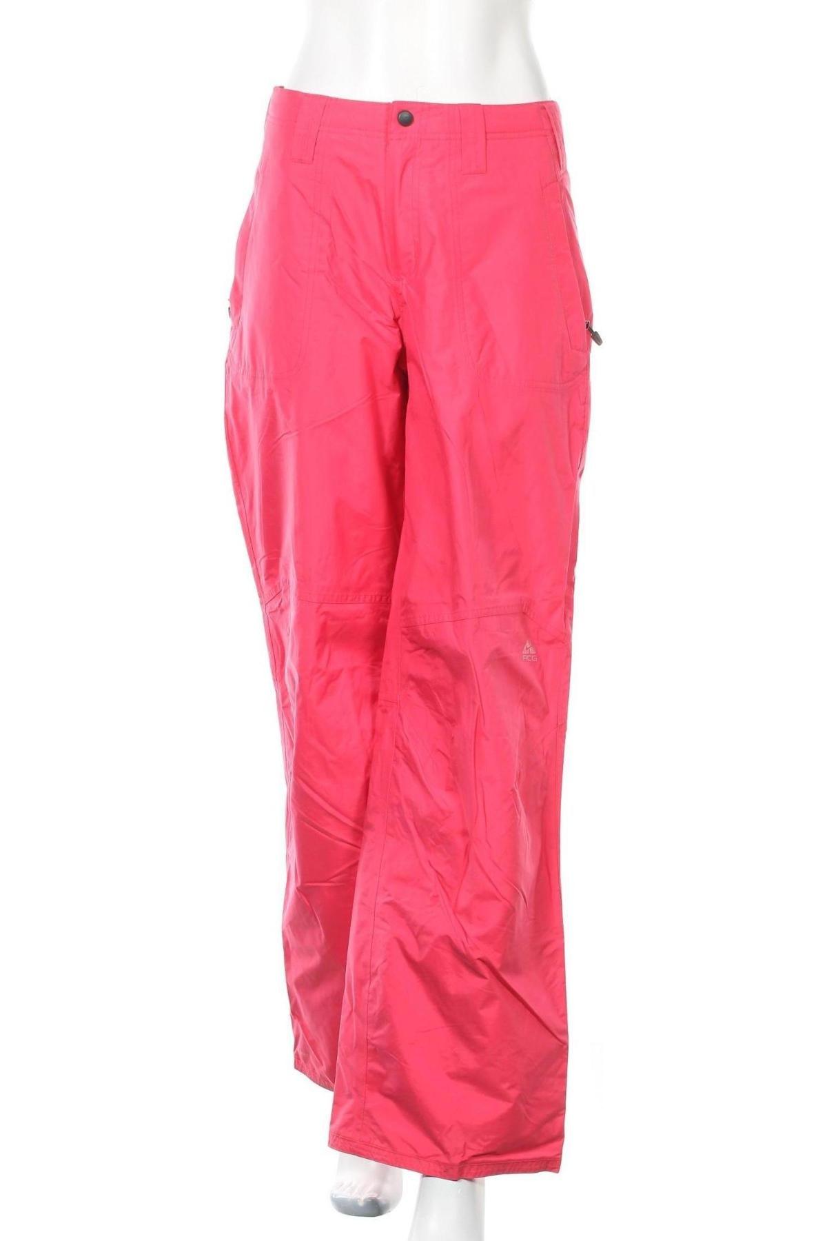 Дамски панталон за зимни спортове Nike Acg, Размер M, Цвят Розов, Полиамид, Цена 189,00лв.
