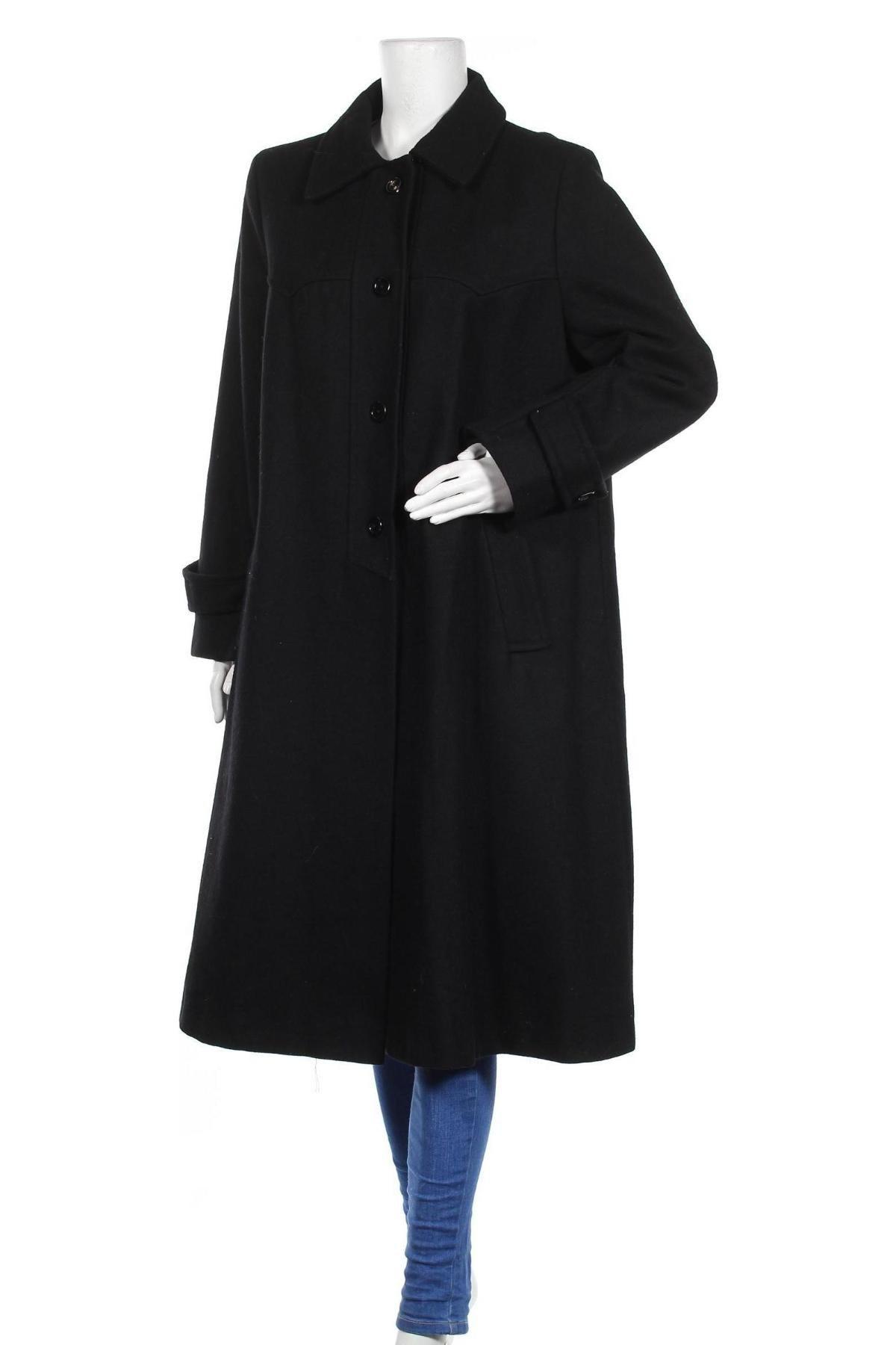 Дамско палто, Размер XXL, Цвят Черен, Цена 32,75лв.