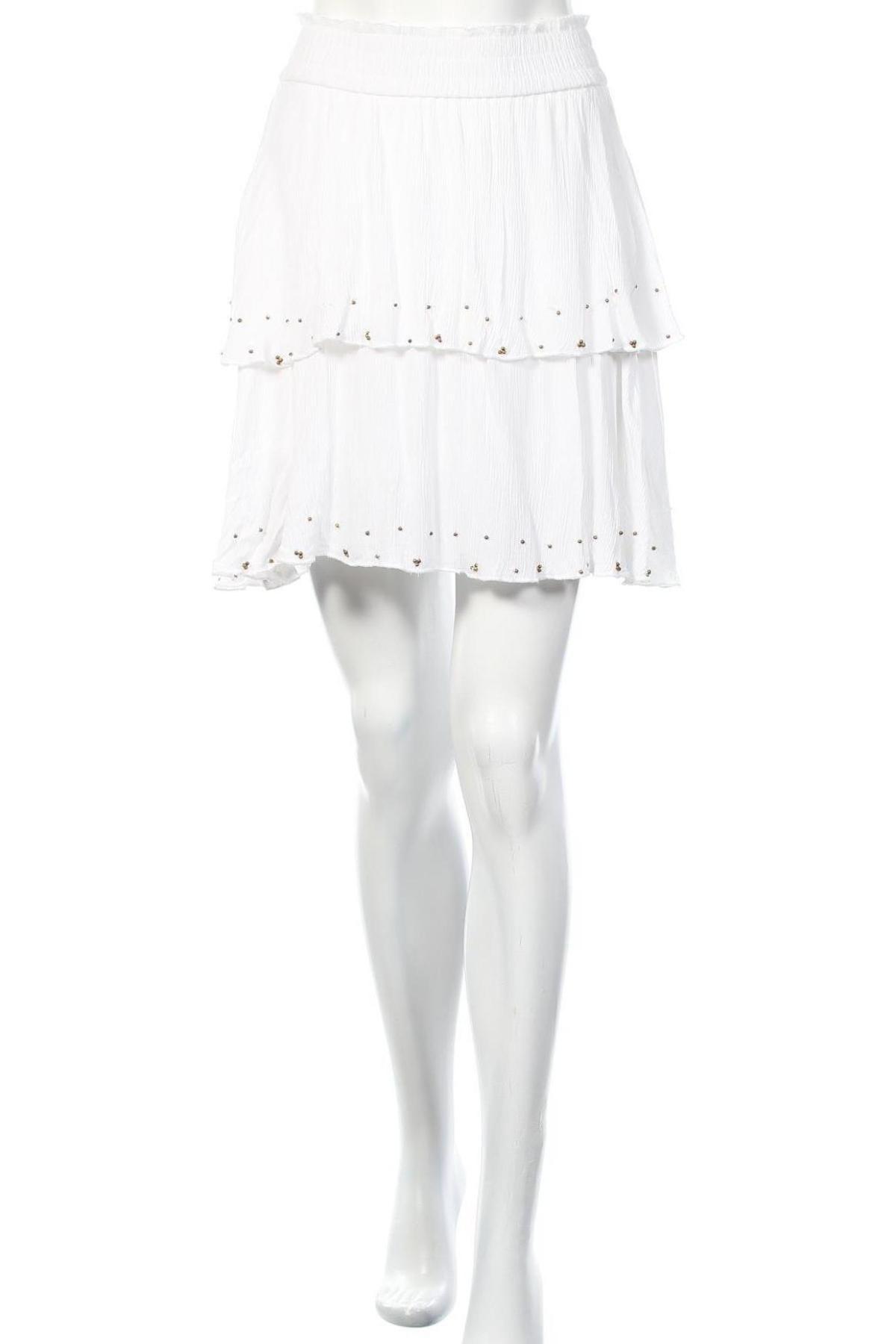 Пола Farina Opoku, Размер XS, Цвят Бял, Вискоза, Цена 12,18лв.