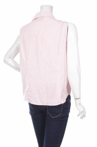 Γυναικείο πουκάμισο Basic Editions, Μέγεθος XL, Χρώμα Ρόζ , 55% βαμβάκι, 45% πολυεστέρας, Τιμή 9,90€
