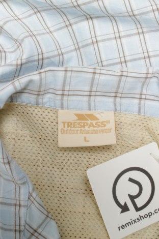 Γυναικείο πουκάμισο Trespass, Μέγεθος L, Χρώμα Μπλέ, 100% βαμβάκι, Τιμή 9,28€