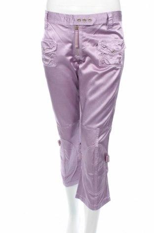 Дамски панталон J.lindeberg, Размер L, Цвят Лилав, 52% памук, 48% вискоза, Цена 26,50лв.