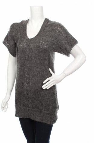 Дамски пуловер, Размер S, Цвят Сив, Акрил, Цена 5,60лв.