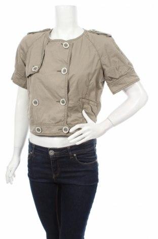 Дамско яке In Wear, Размер M, Цвят Зелен, Памук, Цена 8,20лв.