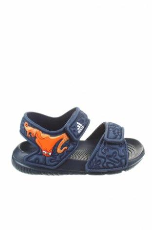 Детски сандали Adidas, Размер 21, Цвят Син, Полиуретан, Цена 62,25лв.
