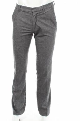 Мъжки панталон Drykorn for beautiful people, Размер M, Цвят Сив, 69% полиестер, 29% вискоза, 2% еластан, Цена 24,70лв.