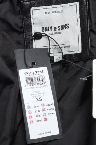 Мъжко кожено яке Only & Sons