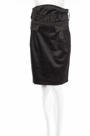 Пола Reserved, Размер M, Цвят Черен, 50% памук, 47% полиестер, 3% еластан, Цена 31,20лв.