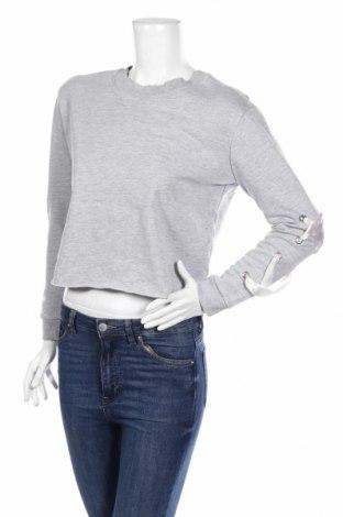 Дамска блуза Jennyfer, Размер M, Цвят Сив, 69% памук, 24% полиестер, 7% вискоза, Цена 11,04лв.