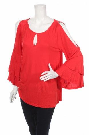 Дамска блуза S.Oliver, Размер S, Цвят Червен, Вискоза, Цена 13,57лв.