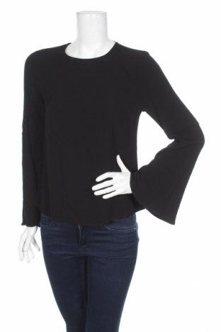 Дамска блуза Tom Tailor, Размер S, Цвят Черен, Вискоза, Цена 13,57лв.