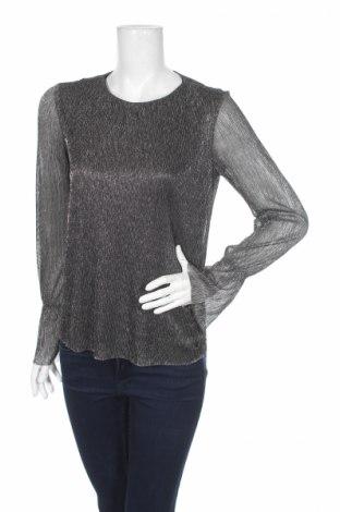 Дамска блуза Tom Tailor, Размер XS, Цвят Сив, 80% полиестер, 20% метални нишки, Цена 15,87лв.