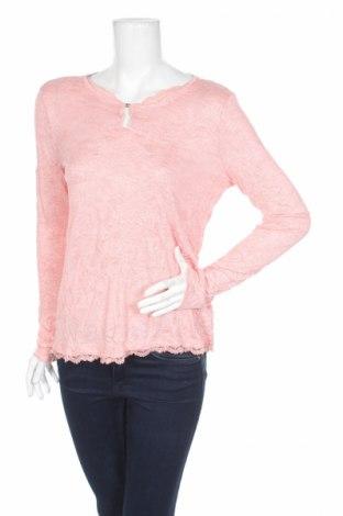 Дамска блуза Tom Tailor, Размер XS, Цвят Розов, 50% полиестер, 50% вискоза, Цена 13,57лв.
