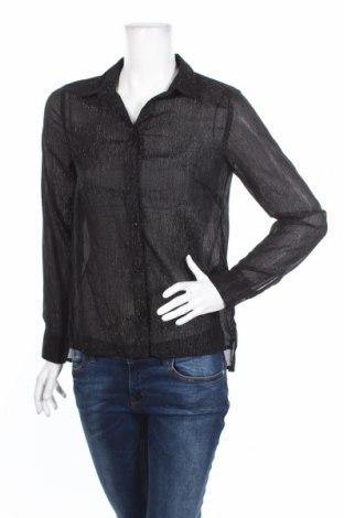 Γυναικείο πουκάμισο H&M Divided, Μέγεθος S, Χρώμα Μαύρο, Πολυεστέρας, Τιμή 5,09€