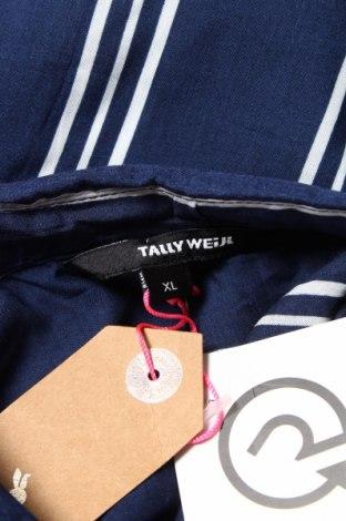 Дамска риза Tally Weijl, Размер XL, Цвят Син, Вискоза, Цена 17,98лв.