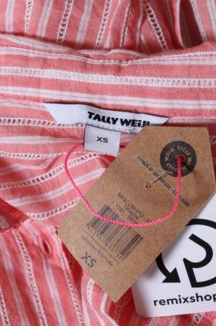Γυναικείο πουκάμισο Tally Weijl, Μέγεθος XS, Χρώμα Ρόζ , Βαμβάκι, Τιμή 3,16€