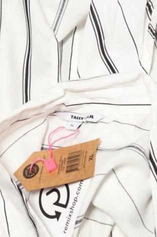 Дамска риза Tally Weijl, Размер XL, Цвят Бял, Вискоза, Цена 19,14лв.