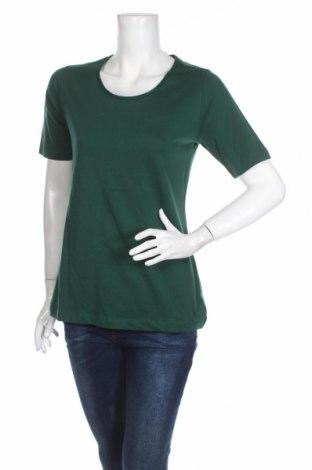 Дамска блуза S.Oliver, Размер L, Цвят Зелен, Памук, Цена 21,12лв.