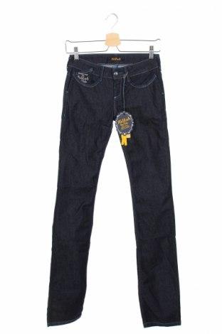 Дамски дънки Killah, Размер XS, Цвят Син, 70% памук, 30% полиестер, Цена 21,23лв.