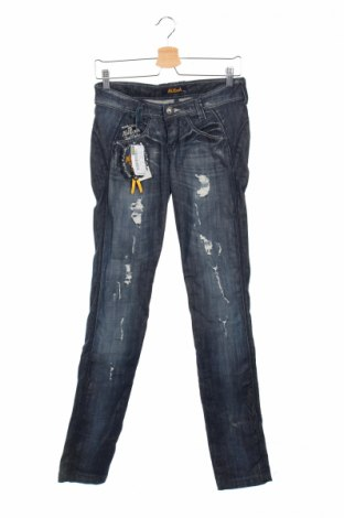 Дамски дънки Killah, Размер XS, Цвят Син, 98% памук, 2% еластан, Цена 34,68лв.