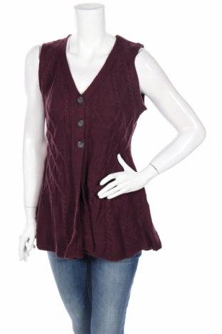 Cardigan de damă North Style, Mărime S, Culoare Mov, Acrilic, Preț 18,16 Lei