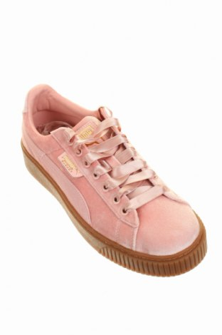 Дамски обувки Puma, Размер 40, Цвят Розов, Текстил, Цена 104,25лв.