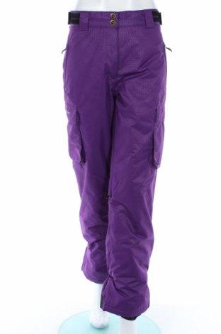 Дамски панталон за зимни спортове Missing Link, Размер L, Цвят Лилав, Полиестер, Цена 10,50лв.