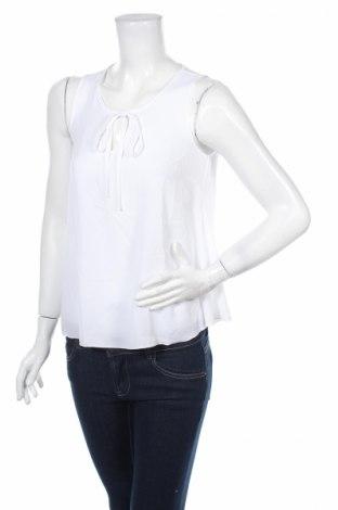 Γυναικείο αμάνικο μπλουζάκι Rick Cardona, Μέγεθος XS, Χρώμα Λευκό, 97% πολυεστέρας, 3% ελαστάνη, Τιμή 9,56€