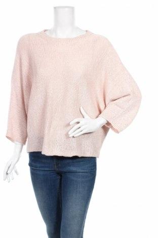 Дамски пуловер Ane Mone, Размер L, Цвят Розов, 60% полиестер, 40% памук, Цена 6,00лв.