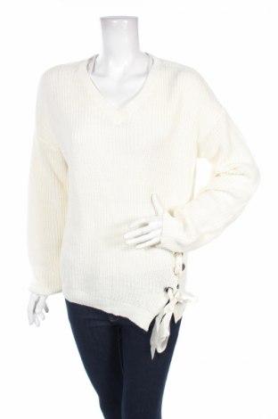 Дамски пуловер Mo, Размер XL, Цвят Екрю, 59% памук, 41% акрил, Цена 10,81лв.