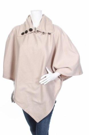 Γυναικείο fleece πόντσο La Redoute, Μέγεθος M, Χρώμα  Μπέζ, Τιμή 19,46€