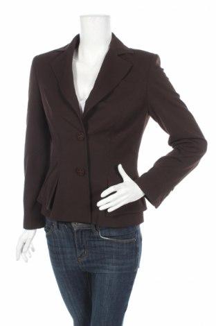 Γυναικείο σακάκι Mariella Rosati, Μέγεθος S, Χρώμα Καφέ, 60% πολυεστέρας, 35% βισκόζη, 5% ελαστάνη, Τιμή 7,51€