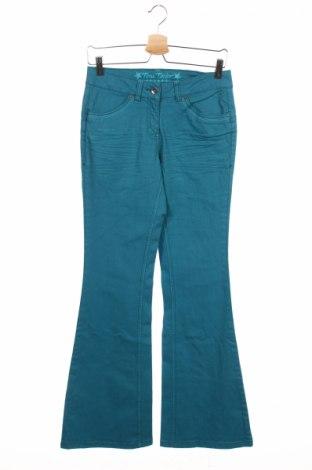Детски дънки Tom Tailor, Размер 15-18y/ 170-176 см, Цвят Син, 98% памук, 2% еластан, Цена 9,66лв.