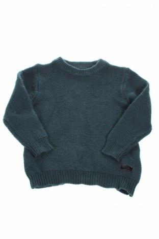 Dziecięcy sweter Zara Kids, Rozmiar 6-7y/ 122-128 cm, Kolor Zielony, 56% poliamid, 35% bawełna, 9% wełna, Cena 72,73zł