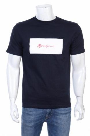 Мъжка тениска Mennace, Размер XS, Цвят Син, Памук, Цена 18,02лв.