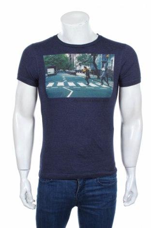 Мъжка тениска Mo, Размер XS, Цвят Син, Памук, Цена 16,96лв.