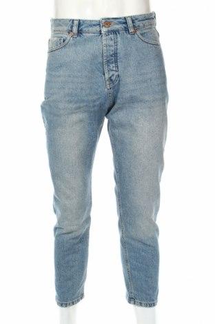 Męskie jeansy Mennace, Rozmiar S, Kolor Niebieski, Bawełna, Cena 70,00zł