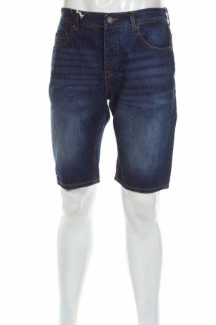 Мъжки къс панталон Mo, Размер M, Цвят Син, Памук, Цена 25,44лв.