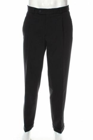 Ανδρικό παντελόνι Chris Martin, Μέγεθος M, Χρώμα Μαύρο, 44% μαλλί, 54% πολυεστέρας, 2% ελαστάνη, Τιμή 2,51€