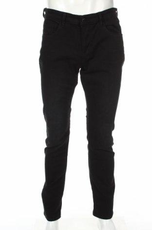 Мъжки панталон Tom Tailor, Размер M, Цвят Черен, 98% памук, 2% еластан, Цена 51,75лв.