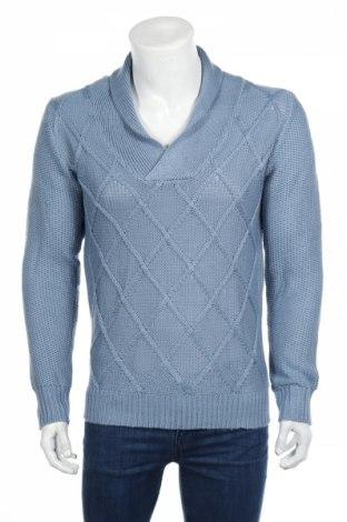 Pánsky sveter  Mo Casual, Veľkosť M, Farba Modrá, Akryl, Cena  24,74€