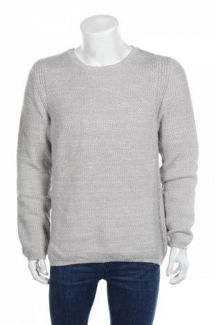 Pánsky sveter  S.Oliver, Veľkosť L, Farba Sivá, 82% bavlna, 18%acryl , Cena  38,14€