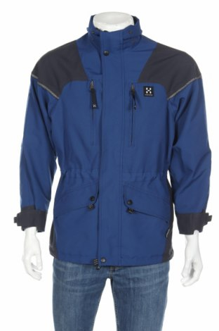 Мъжко спортно яке Haglofs, Размер XS, Цвят Син, 100% полиестер, Цена 16,00лв.
